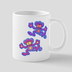 Pink and Purple Monkeys Mug