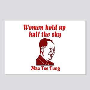 Mao Tse Tung on Women Postcards (Package of 8)