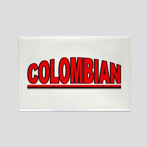 """""""Colombian"""" Rectangle Magnet"""