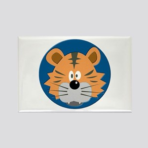 Baby Tiger Rectangle Magnet
