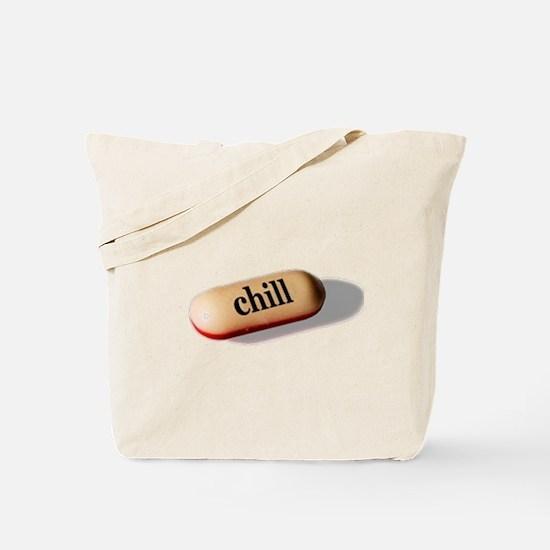 Chill Pill Tote Bag