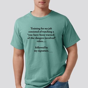 On the Job Training T Shir T-Shirt