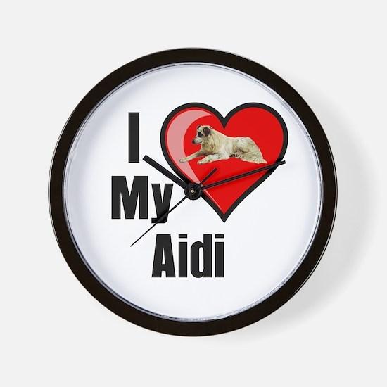 Aidi Wall Clock