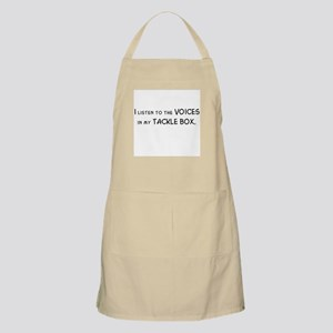 Voices in My Tackle Box BBQ Apron