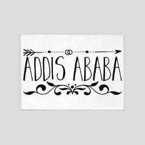 Addis Ababa 5'x7'Area Rug