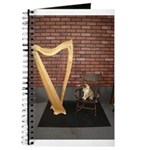 Sheltie puppy Fiona's Celtic Harp Journal