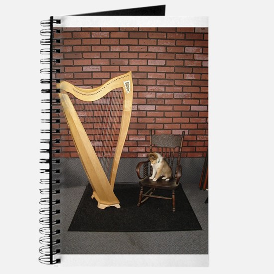 Sheltie puppy Fiona's Celtic Harp Journal