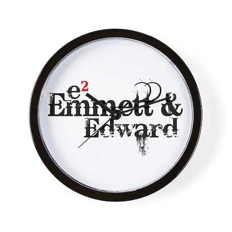 Emmett & Edward Wall Clock