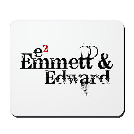 Emmett & Edward Mousepad