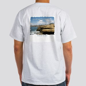 Sunset Cliffs, San Diego Light T-Shirt
