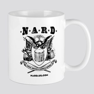 NARD Black  White Mugs