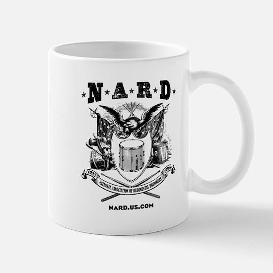 NARD Black  White Mugs