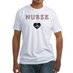 Nurse Fitted T-Shirt