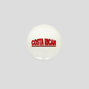 """""""Costa Rican"""" Mini Button"""