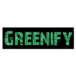 Greenify Sticker (Bumper 10 pk)