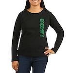 Greenify Women's Long Sleeve Dark T-Shirt