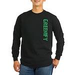 Greenify Long Sleeve Dark T-Shirt