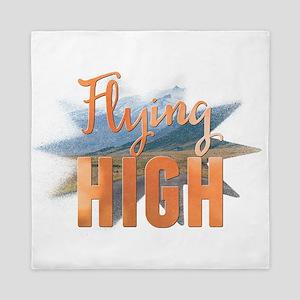 Flying high Queen Duvet