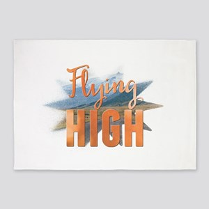 Flying high 5'x7'Area Rug