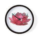 Namasté Wall Clock