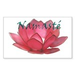Namasté Rectangle Sticker