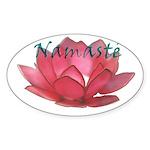Namasté Oval Sticker (50 pk)