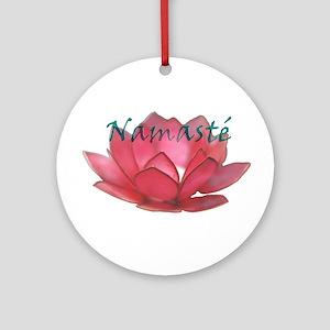 Namasté Ornament (Round)