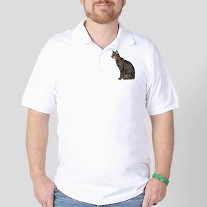 Savannah Cat Golf Shirt