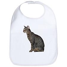 Savannah Cat Bib