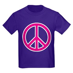 pink peace T