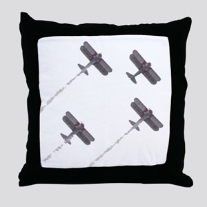 Big Planes in Formation Throw Pillow