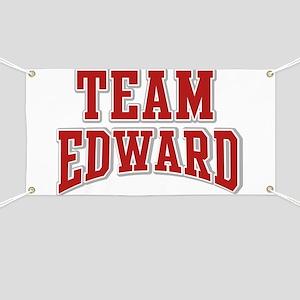 Team Edward Personalized Custom Banner