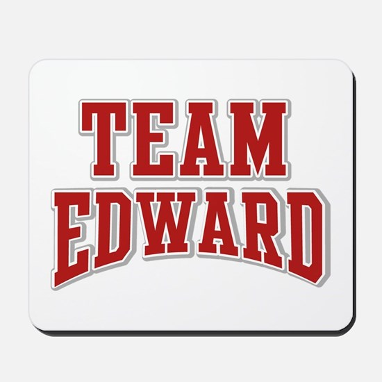 Team Edward Personalized Custom Mousepad