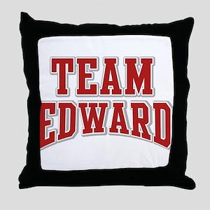 Team Edward Personalized Custom Throw Pillow