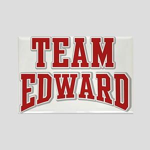 Team Edward Personalized Custom Rectangle Magnet