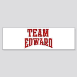 Team Edward Personalized Custom Bumper Sticker
