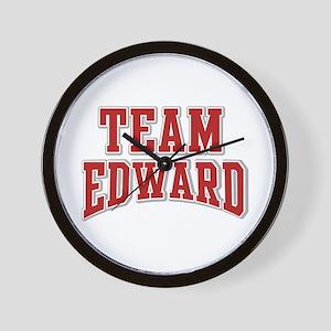 Team Edward Personalized Custom Wall Clock