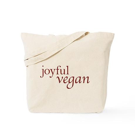Joyful Vegan Tote Bag