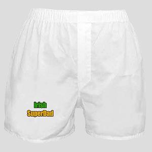 """""""Irish Super Dad"""" Boxer Shorts"""