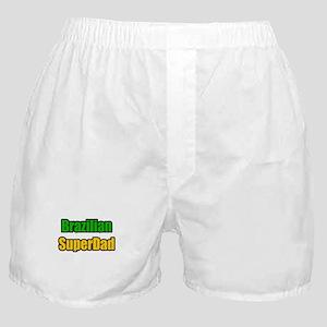 """Brazilian Super Dad"" Boxer Shorts"