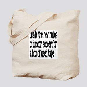 Trade the new rules. Tote Bag