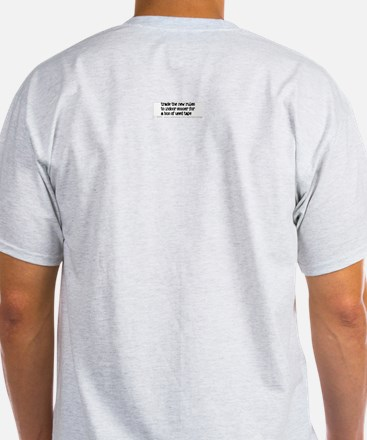 Trade the new rules. Ash Grey T-Shirt