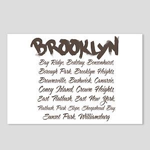 Brooklyn Hoods Postcards (Package of 8)