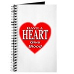 Have A Heart Give Blood Journal