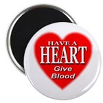 Have A Heart Give Blood Magnet