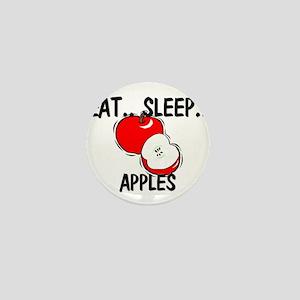 Eat ... Sleep ... APPLES Mini Button