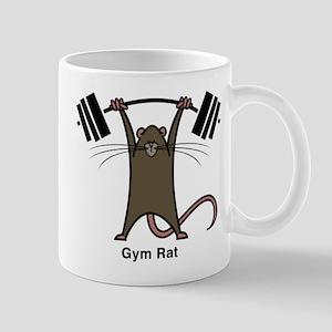 4-gym rat Mugs