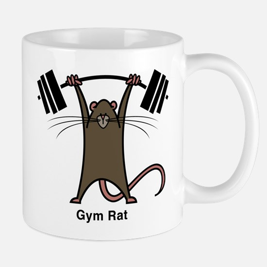 4-gym rat Mugs