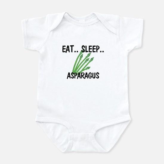 Eat ... Sleep ... ASPARAGUS Infant Bodysuit