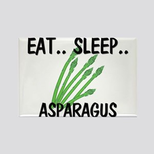 Eat ... Sleep ... ASPARAGUS Rectangle Magnet
